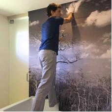 Инструкция по наклейке фотообоев на стену